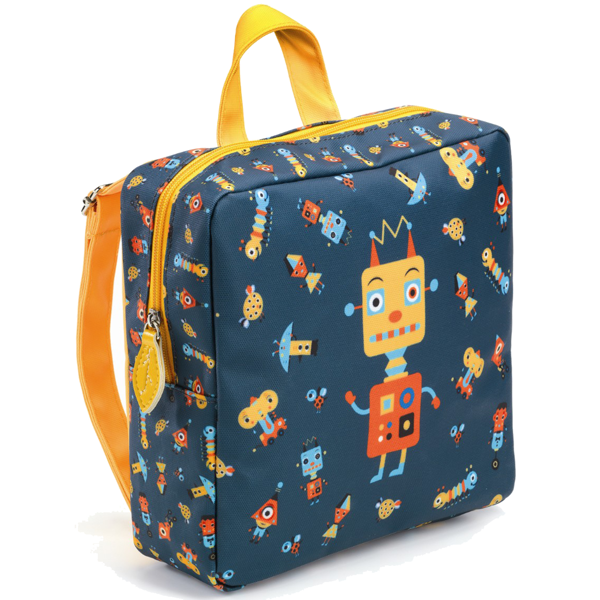 djeco-rygsaek-bag-backpack-robot-kids-boern-boy-dreng