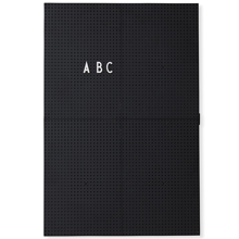 DesignLetters-message-board-black-a3
