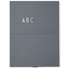 DesignLetters-message-board-dark-grey-a4