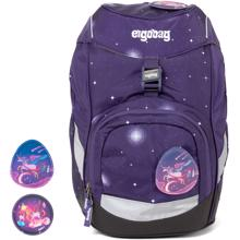 ergobag-prime-Schulrucksack-Beargasus-galaxy-edition-lilla-purple