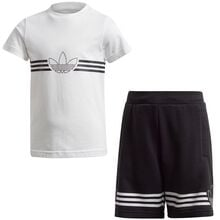 adidas-shorts-set-saet-t-shirt-tee-blakc-sort-hvid-white