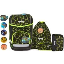 Ergobag-skoletaske-school-bag-cubo-dragon-ridebear-green-groen