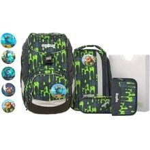 ergobag-pack-GlibbBaer-school-bag-skoletaske-green-groen