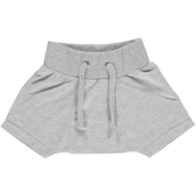 Gro-south-baby-shorts-melange-grey-graa