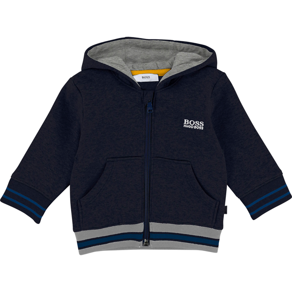 Hugo-boss-sweatshirt-cardigan-lynlaas-grey-graa-blue-blaa-navy-hoodie