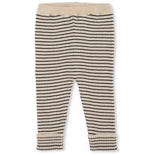 Konges Sløjd Meo Striped Knit Bukser Navy/Rice