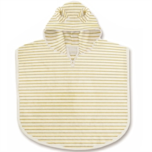 kongessloejd-terry-poncho-striped-stribet-poncho-terry-sunflower