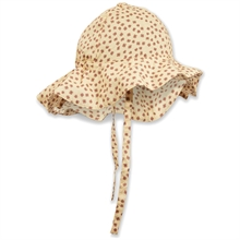 kongessloejd-pilou-baby-sunhat-pilou-solhat-baby-buttercup-rosa-flowers-blomster