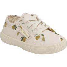 Konges-Sloejd-sko-sneakers-lemon-citroner-white-hvid-laces