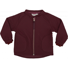 Kongessloejd-termotoej-thermo-termojakke-jacket-red-bordeaux