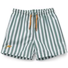 Liewood Duke Badeshorts Stripe Peppermint/White