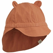 liewood-sun-hat-solhat-levi-sienna-red-brown-roed-brun