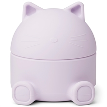 LW14210-liewood--9408-Cat-light-lavender-treasure-box-smykkeskrin-silicone