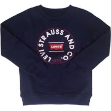 Levis-sweatshirt-blue-blaa-navy-red-roed-hvid-white