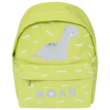 Little-lovely-company-bag-pack-mini-brontosaurus-dinosaur-green-groen