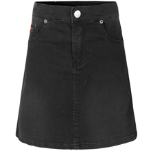 Mads-noergaard-nederdel-skirt-cowboy-washed-black-safrana-sort