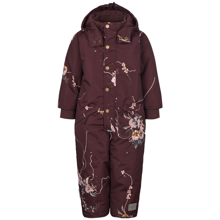 Marmar-flyverdragt-snowsuit-suit-ollie-technical-outerwear-Floral-maze-blomster-red-roed-bordeaux-winter-outerwear-overtoej