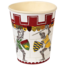 MeriMeri-krus-party-cup-brave-knights-hvid-rod-white-red