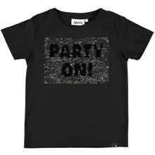 Molo-runi-t-shirt-short-sleeve-sort-black-pailletter-silver-party