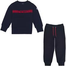 Moncler-maglia-sweat-set-sweatsaet-sweatshirt-sweatpants-navy-red-roed