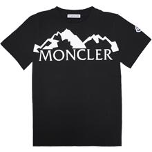Moncler-t-shirt-tee-black-sort-mountain-bjerge-black-sort-hvid-white