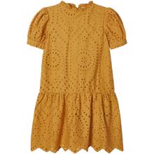 Name-It-amber-gold-denisa-dress-kjole