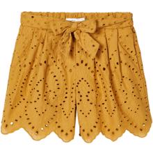 Name-It-shorts-broderi-anglaise-denisa-amber-gold