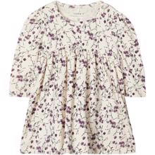 Name-it-dress-hvid-white-kjole-lilla-purple-flowers-blomster