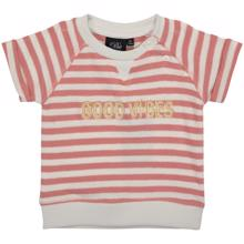 Petit-by-Sofie-Schnoor-t-shirt-tee-short-sleeves-striber-stripes-rose-rosa-white-hvid