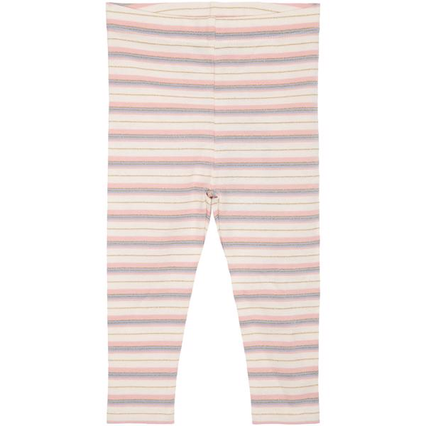 P202601-Petit-by-Sofie-Schnoor-leggings-striber-stripes-rose-rosa-gold-guld