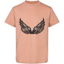 Petit-by-Sofie-Schnoor-t-shirt-tee-rosa-rose-wings-vinger-gold-guld-black-sort-rose-rosa