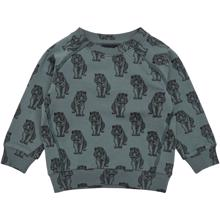 Petit-by-Sofie-Schnoor-sweatshirt-green-groen-tiger