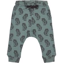 Petit-by-Sofie-Schnoor-bukser-sweatpants-pants-green-groen-tiger