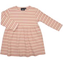Petit-by-Sofie-Schnoor-dress-kjole-striper-stripes-rose-rosa-glitter-lurex-hvid-whit