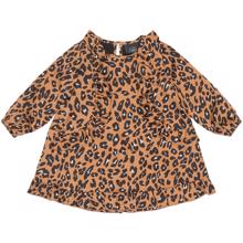Petit-by-Sofie-Schnoor-dress-kjole-leopard-leo-brun-brown-black-sort-hvid-white
