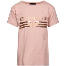 Petit-by sofie schnoor-tee-t-shirt-rosa-rose-glimmer-glitter