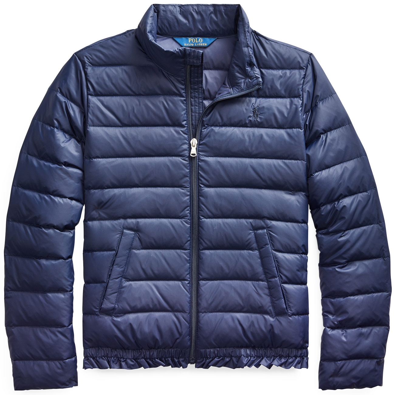 8939e1007 Polo Ralph Lauren Girl Quilted Down Jacket Navy