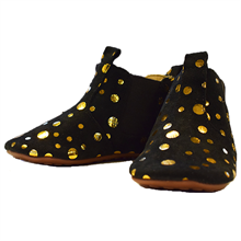 Pom-pom-futter-home-shoes-black-sort-gold-guld