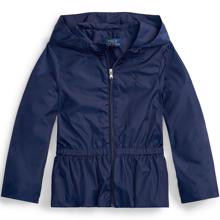 Ralph-Lauren-polo-girl-pige-jakke-jacket-windbreaker-navy-blue-blaa