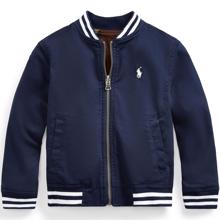Polo Ralph Lauren Boy Jakke Reversible Navy