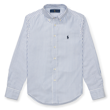 Polo Ralph Lauren Boy Long Sleeved Blake Shirt Stripe Blue/White
