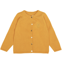 Soft Gallery Baby Mini Owl Golden Glow Carrie Cardigan