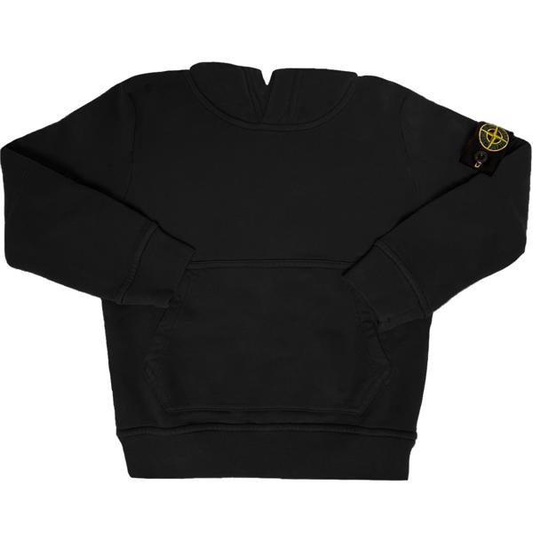 Stone-Island-sweatshirt-black-sort