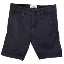 Stone-island-shorts-sort-boy-dreng