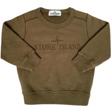 Stone Island Junior Sweatshirt Army Green