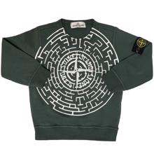Stone Island Junior Sweatshirt Green