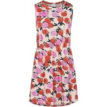 The-New-kjole-dress-flowers-blomster-pink-red-roed