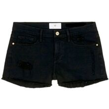 The New Agnes Denim Shorts Black