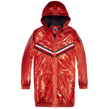 TommyHilfiger-girls-metallic-hood-jacket-red