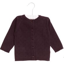Wheat-knit-cardigan-maja-soft-eggplant-lilla-baby